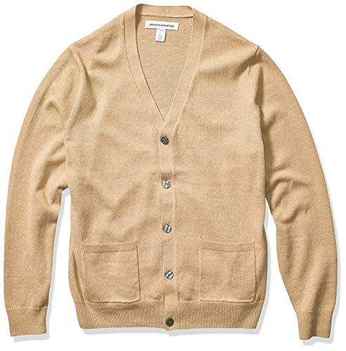 Amazon Essentials Men's Cotton Sweater Cardigan