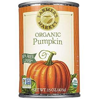Farmer's Market Foods Organic Canned Pumpkin - 15 oz - 2 pk - SET OF 2