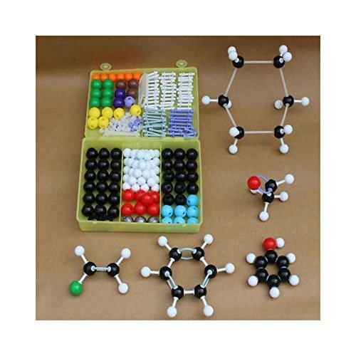 The Prentice Hall Atom Molecular Models Kit Set General & Organic Chemistry Scientific Innovate