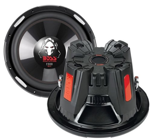 2) New BOSS AUDIO Phantom P106DVC 10' 4200W DVC Car Subwoofers Power Subs PAIR