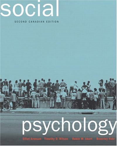 Social Psychology, Second Canadian Edition