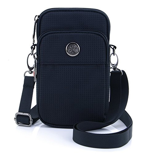 - U-TIMES Casual Water Resistant Oxford Waist Wallet Bag 6