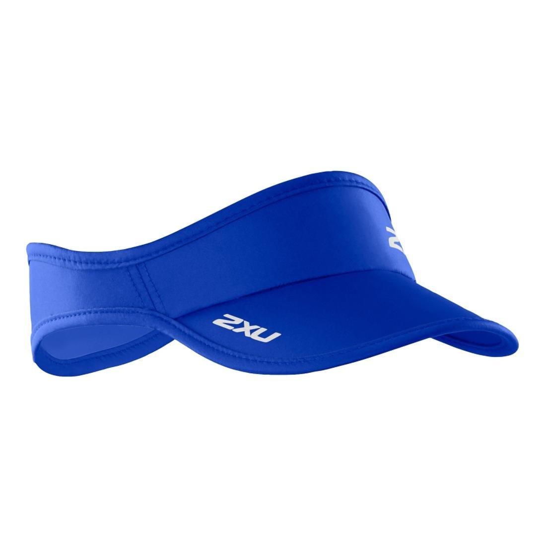 (ツータイムズユー)2XU ランニングウェア ランバイザー UA1150f [ユニセックス] B01HJGEIQO One Size|Cobalt Blue/Cobalt Blue Cobalt Blue/Cobalt Blue One Size