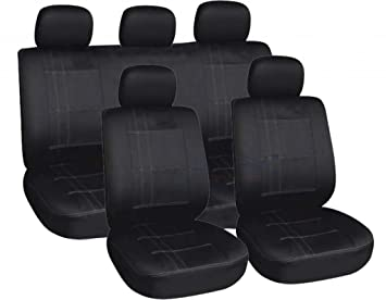 XremeAuto Airbag ready Comfort Blue//Black Styling Car Seat Covers WLW2-A51