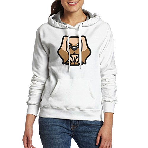 RMM KKK Women's Cocker Spaniel Tooniefied Hoodies Pullover - Game Puppy Opoly