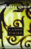 A Long Finish, Michael Dibdin, 0385259484