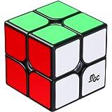 D-FantiX YJ MGC 2x2 Speed Cube YJ MGC Magnetic 2x2x2 Puzzle Cube Toy Black