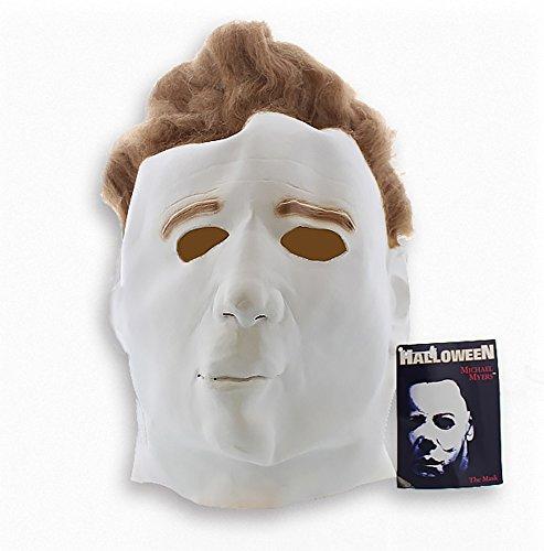 [Halloween Michael Meyers Mask for SMALL / MEDIUM Heads] (Spirit Halloween Inflatable Costumes)