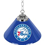 NBA Philadelphia 76ers Single Shade Gameroom Lamp, 14''
