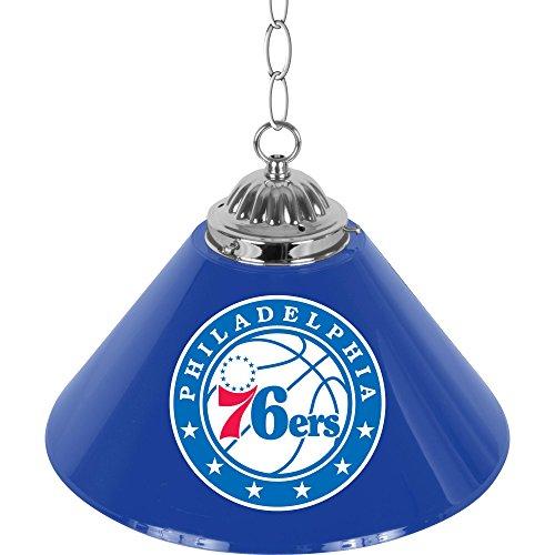 NBA Philadelphia 76ers Single Shade Gameroom Lamp, 14'' by Trademark Gameroom