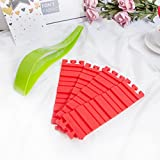 4 PCS Silicone Cake Mold Bake Baking Mould Tool Snake DIY And One-piece Cut Cake Slicer for Any Shape