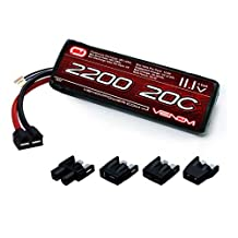 Venom 20C 3S 2100mAh 11.1 LiPO Battery with Universal Plug System