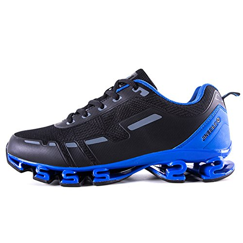 Absorption Shoes Blue US Lightweight Sneakers M 5 D 7 Shoes men Shock Walking Sports for Casual TIvqdff