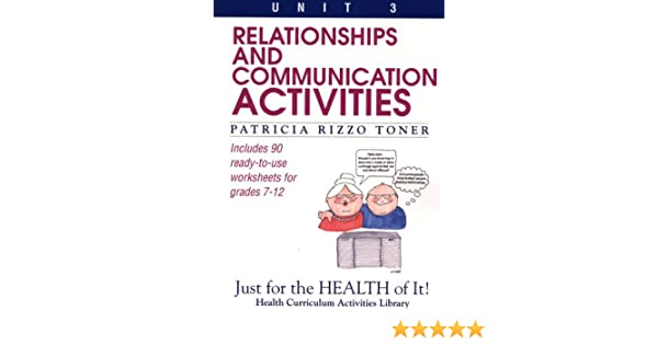 Amazon.com: Relationships and Communication Activities: Just for ...