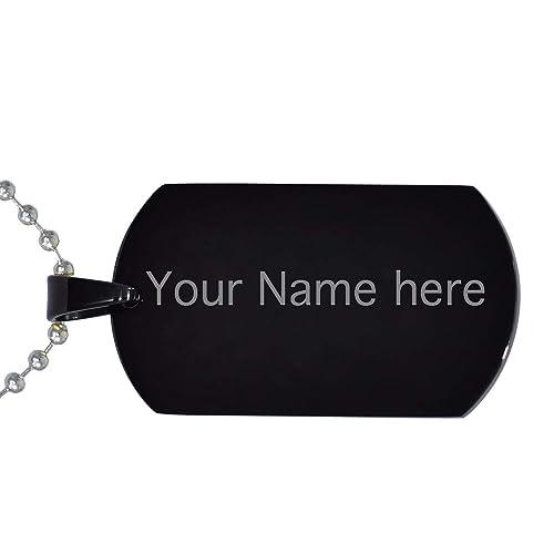 Amazon.com: Collar con colgante grabado con nombre de bebé ...