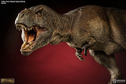 Sideshow Dinosauria Collectibles T Rex  The Tyrant King  Dinosaur Statue