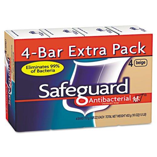 4 Ounce Cartons (MOT Antibacterial Bath Soap, Beige, 4oz Bar, 48/Carton)