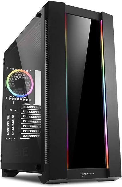 Sharkoon ELITE SHARK CA200G - Caja de Ordenador, PC Gaming ...