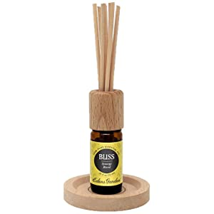 Edens Garden Reed Diffuser For Essential Oils & Aromatherapy (Best For Home & Office)