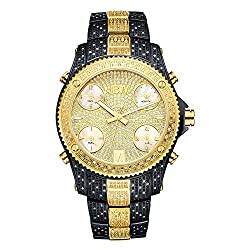 Men's Luxury Jet Setter Diamond Wrist Watch