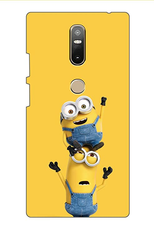 new arrival f3da7 1af6d AMAN Minion 3D Back Cover for Lenovo Phab 2 Plus: Amazon.in: Electronics