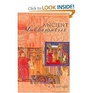 Ancient Mathematics (Sciences of Antiquity) Serafina Cuomo