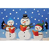 ellybean Rug - Caroling Snowmen