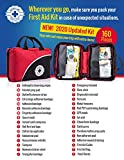 First Aid Kit - 160 Piece - for