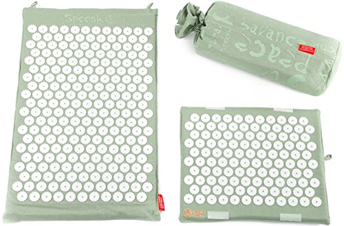 Spoonk Back Pain and Sleep Induction Combo Set/one Regular and one Travel (sage)