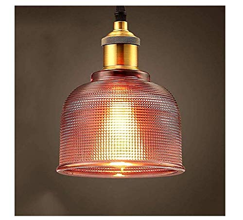 Pendant Light Industrial Design E27 Personality Simple Fashion Creative Stained Glass Chandelier Restaurant Bar Cafe Clothing Den Bedroom Chandelier