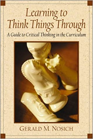gerald m nosich critical thinking