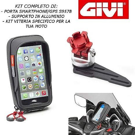 Soporte para Smartphone con Soporte para depósito de Aceite S957B + S903A + 01VKIT específico para