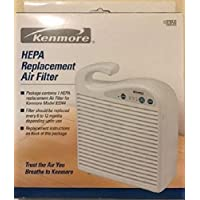 Sears Kenmore 42-83159 HEPA Replacement Air Filter - Fits Kenmore air cleaner model 83244
