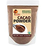 Cacao Powder Raw Organic Superfood by SOW+BLOOM – Sugar Free, Gluten Free, Non GMO – 2 lb (32 oz) , Not Cocoa Powder