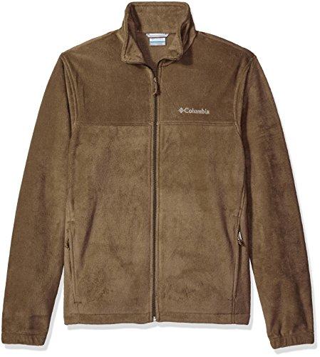 Columbia Men's Cascades Explorer Full Zip Fleece Jacket, Trail Brown, X-Large