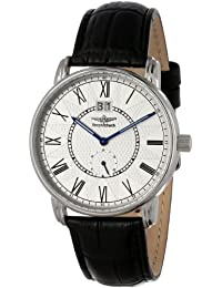 Breytenbach Men's BB77301W Swiss Ronda Classic Small Second Watch