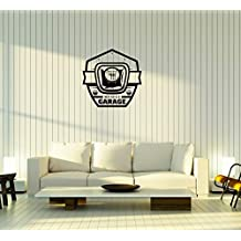 Wall Decal Muscle Car Garage Gearbox Decor Vinyl Sticker (ed1301)