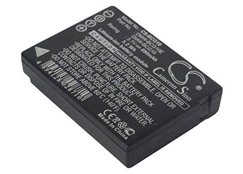 vintrons 交換用バッテリー パナソニック Lumix DMC-TZ20T (890mAh / 3.29Wh)   B013KP1K2S