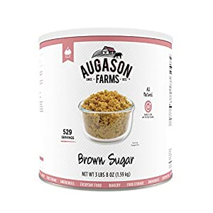 Augason Farms Brown Sugar 3 lbs 8 oz No. 10 Can