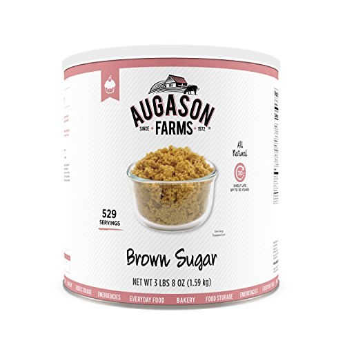 (Augason Farms Brown Sugar 3 lbs 8 oz No. 10 Can)