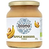 Biona Organic - Apple & Banana Puree - 360g (Case of 6)