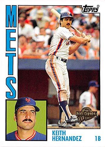 Keith Hernandez Baseball Card New York Mets World Series
