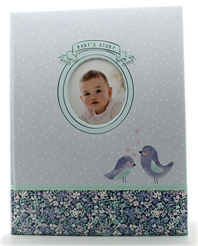 Carters Baby Record Book Baby Story Love Birds Scrapbook Photo Album by Carter's