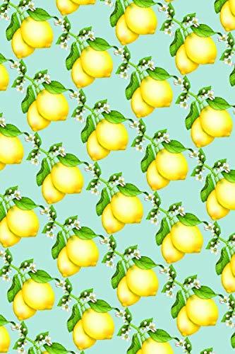 Recipe Journal: My Little Lemon Drop Cookbook Kitchen Notebook by Dorothy Hawkes