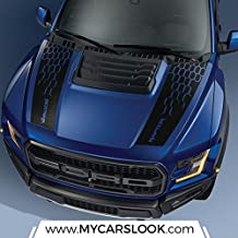 Ford F150 Raptor 2017 hood graphics package kit decal sticker - 3