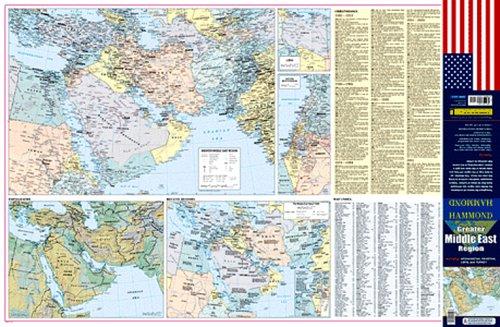 Hammond Greater Middle East Region: Including Afghanistan, Pakistan, Libya, and Turkey (Hammond Greater Middle East Region Map) pdf