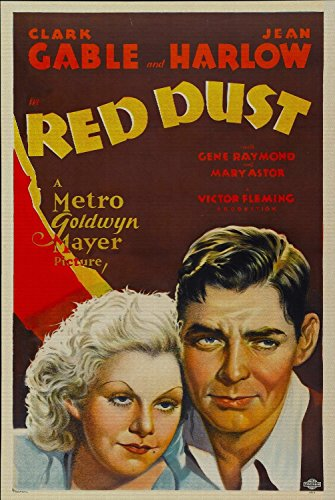 Odsan Gallery Red Dust, Clark Gable, Jean Harlow, Gene Raymond, Mary Astor, 1932 - Premium Movie Poster Reprint 24