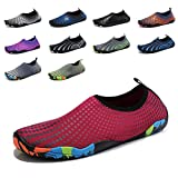 GUBARUN Mens Water Shoes Swim Summer Shoes for Women Quick-Dry Beach Barefoot Surf Yoga 7