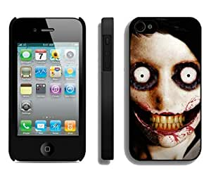 High Quality iPhone 4 4S Case ,Cool And Fantastic Designed Case With jeff the killer Black iPhone 4S Cover