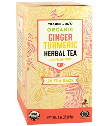 Image result for trader joe's ginger-tumeric tea